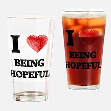 hopeful Drinking Glass