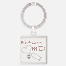 Cute Infants dr Square Keychain