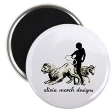 "March Woman 2.25"" Magnet (100 pack)"