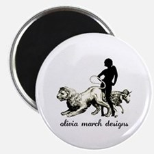 "March Woman 2.25"" Magnet (10 pack)"