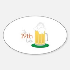 The 19th Hole Decal