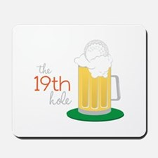 The 19th Hole Mousepad