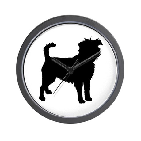 Affenpinscher Dog Wall Clock