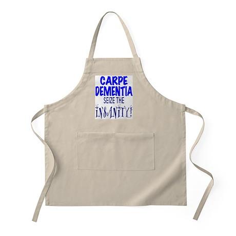 Carpe Dementia BBQ Apron