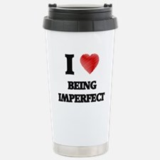 imperfect Stainless Steel Travel Mug