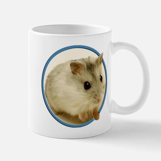Teeny Hamster in Circle Mugs