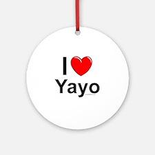 Yayo Round Ornament