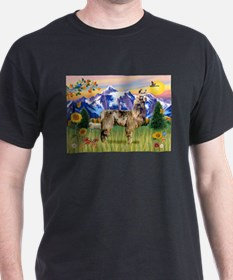 Llama in the Country T-Shirt