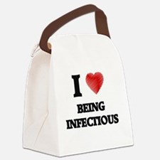 infectious Canvas Lunch Bag