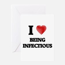 infectious Greeting Cards
