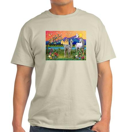 Fantasy Land Baby Llama Light T-Shirt