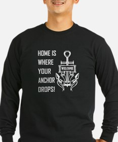 HOME IS WHERE... Long Sleeve T-Shirt