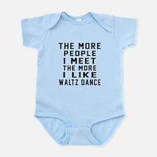 I Like Waltz Dance Infant Bodysuit