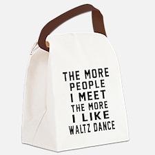 I Like Waltz Dance Canvas Lunch Bag