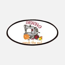 Sewing Saying Patch