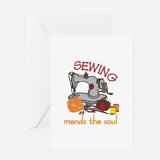 Sewing Saying Greeting Cards