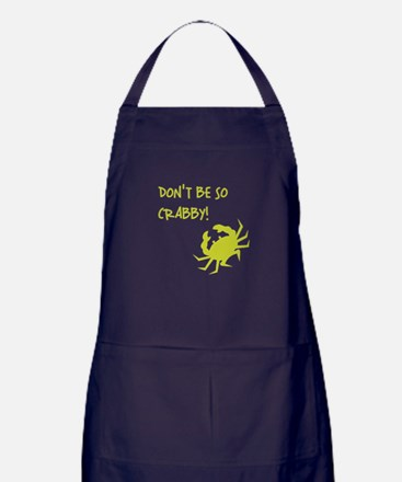 DON'T BE SO CRABBY! Apron (dark)
