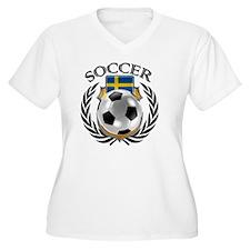 Cute Swedish football fans T-Shirt