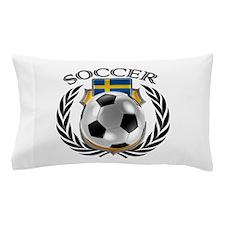 Sweden Soccer Fan Pillow Case