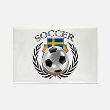 Sweden Soccer Fan Magnets