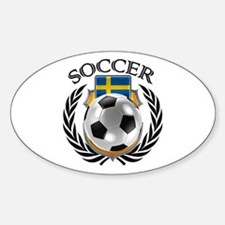 Sweden Soccer Fan Decal