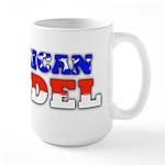 Flag American Infidel Large Mug