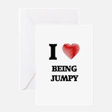 jumpy Greeting Cards