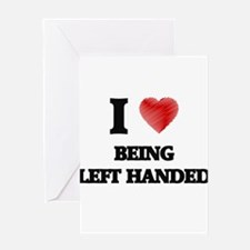 left-handed Greeting Cards