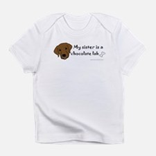 Cool Big sister dog Infant T-Shirt
