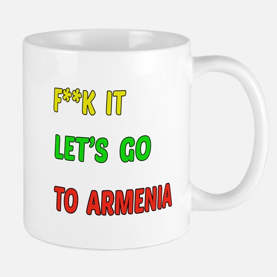 Let's go to Armenia Mug