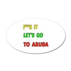 Let's go to Aruba Wall Sticker