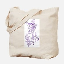 Caring Fairy - Purple - Tote Bag