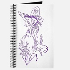 Caring Fairy - Purple - Journal
