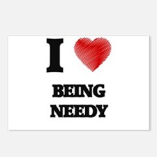 being needy Postcards (Package of 8)