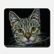 Fractal Cat Mousepad