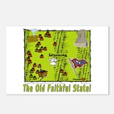 WY-Old Faithful! Postcards (Package of 8)