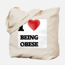 being obese Tote Bag