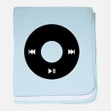 iPod Click Wheel baby blanket