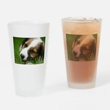 Sweet Dog Drinking Glass