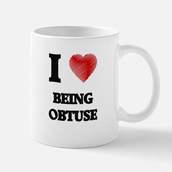 being obtuse Mugs