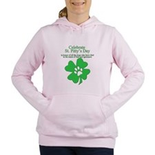 Unique St patricks day hockey Women's Hooded Sweatshirt