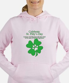 Cute Family st patricks day Women's Hooded Sweatshirt