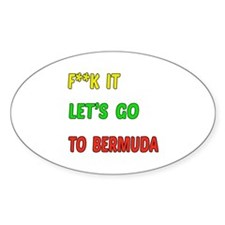 Let's go to Bermuda Decal