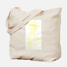 Caring Fairy - Yellow - Tote Bag