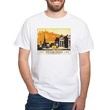 Vintage Edinburgh Travel Post Shirt