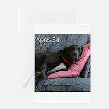 Cute Canine love Greeting Card