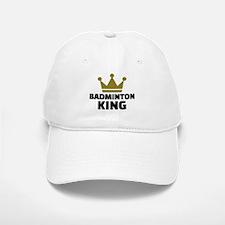 Badminton king champion Baseball Baseball Cap
