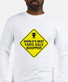 Yard Sale Shopper Long Sleeve T-Shirt