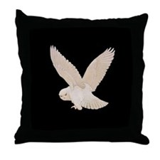 HEDWIG THE OWL Throw Pillow
