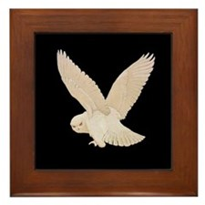 HEDWIG THE OWL Framed Tile